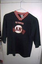 san francisco giants Tee shirt boys . girls boys size L 10/12 size LOOK-C EX-CON