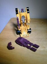 Drag Strip Menasor 100% Complete 1986 G1 Transformers Action Figure