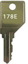 Hon 178e File Cabinet Desk Cubicle Mobile Pedestal Replacement Key