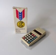 Vintage Personal Commodore 796M Calculator Red LED (Boxed) Retro Electronics