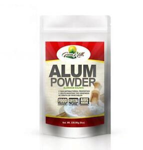 Alum Powder- Food Grade 226.8 g (8 oz.)