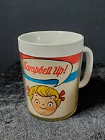 Vintage CAMPBELL UP Soup Coffee Mug Cup Kids Thermo Serv West Bend