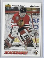 1991-92 Upper Deck Dominik Hasek Rookie Card No. 335