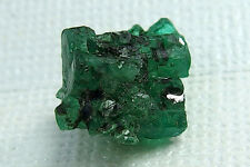 Brilliant Green Emerald Crystal Mini-Cluster From Shakiso Ethiopia 6.4 Cts.