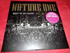 """4x12"""" Nature One Best Of 20 Years 4fach LP *Neu* Techno Classics Cenith X Feel"""