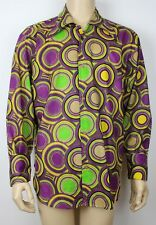 Vintage Mens 60s 70s Style Crazy Prince Psychedelic Festival Retro Shirt  L