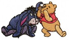 "Disney's Winnie The Pooh & Eeyore Telling Secrets 2 1/2"" Wide Embroidered Patch"