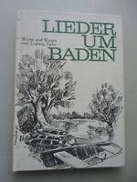 Lieder um Baden Worte und Weisen von Ludwig Egler Reprint