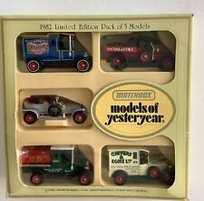 Matchbox Models of Yesteryear 1982 Limited Edition Pack