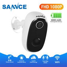 Sannce 1080P Wireless Smart Power Battery Cctv Security Ip Camera Cloud Storage