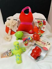 FUN DOG TOY SPECIAL! Lot of 6ITEMS - MED, SM PUPPY OR DOG TOYS!