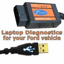 F SUPER diagnostic Interface Scanner SCAN TOOL USB Reader OBD Fits Ford models