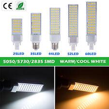 New E27 G24 3528 5050 SMD LED Spot Down Corn Light Tube Bulb Lamp Warm Day White