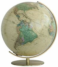 Columbus Vienna Illuminated 16 Inch Desktop World Globe