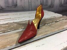Just The Right Shoe By Raine Drops Originals Coa Red Devil Box 25082