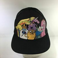Cartoon Network's Adventure Time Trucker Flat Brim Snapback Hat Cap OSFM