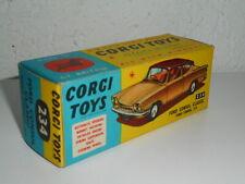 CORGI TOYS   n° 234  FORD CONSUL  véritable boite vide ancienne et originale