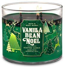 Bath & Body Works Vanilla Bean Noel 3-Wick Candle