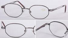 L66 Men's Metal Reading Glasses/Spring Hinges/Super Robust Special Shape Design