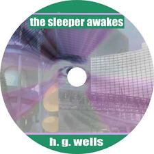 The Sleeper Awakes, H. G. Wells Science Fiction Audiobook on 1 MP3 CD Free Ship