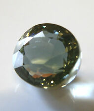 Natural earth-mined green tourmaline gemstone...5.5 carat