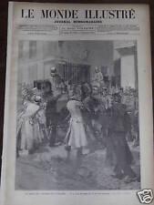 LE MONDE ILLUSTRE 1884 N 1398 LA GREVE DES COCHERS