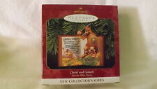 Hallmark Ornament 1999 David & Goliath Favorite Bible Stories 1st In Series