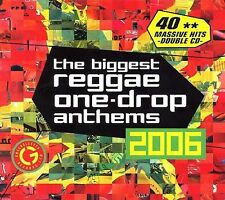 The Biggest Reggae One-Drop Anthems 2006 by Various Artists (SEALED 2 CDS