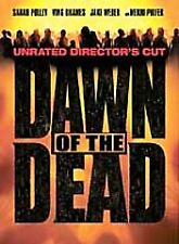 Dawn of the Dead (Dvd, 2004, Unrated Directors Cut Widescreen) Very Good