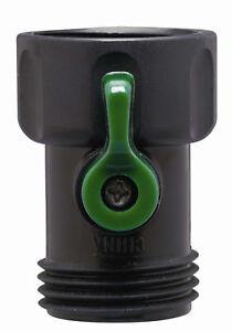 Orbit Plastic Garden Hose Faucet Shut-off Coupling for Water Valve Spigot 58086N