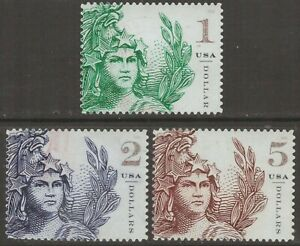 Scott #5295-97 Used Set, Statue of Freedom (Off Paper)