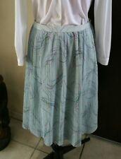 Jupe longue plissée femme vintage taille 42