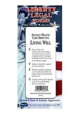Living Will (Advance Health Care Directive) Legal Forms Kit - USA - Permacharts
