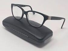 Cole Haan Rx Eyeglasses CH1005 Black Plastic Full Rim Square 52[]16-135