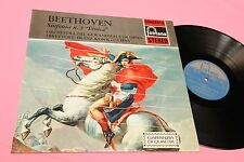 BEETHOVEN LP SINFONIA 3 EROICA ITALY FONTANA '70 NM STEREO VERSION LAMINATED COV