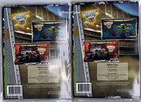 2 x Monster Jam Trucks Grave Digger Monster Mutt  - Polyester/Cotton pillowcases