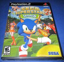 Sega Superstars Tennis Sony PlayStation 2 - PS2 - *Factory Sealed! *Free Ship!