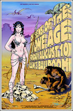 QUEENS OF THE STONE AGE Original Cain's Ballroom Tulsa '07 Concert Poster Signed