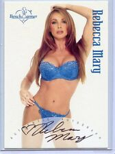 2002 BENCHWARMER REBECCA MARY AUTOGRAPH