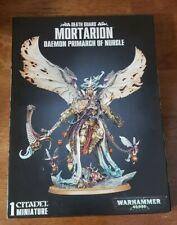 Warhammer 40k Death Guard Army : Mortarion Daemon Primarch of Nurgle NIB
