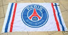 Paris Saint-Germain Flag Banner 3x5 ft PSG White France Football Soccer