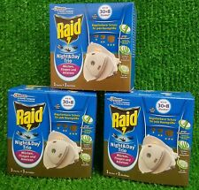 3x Raid Night& Day Trio Starterset INSEKTENSTECKER & Nachfüller
