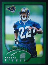 NFL 315 Travis Fisher St. Louis Rams Rookie Topps 2002