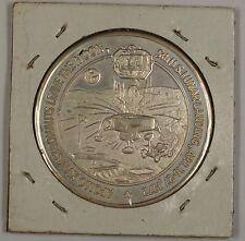 """Apollo 16 (XVI) Silver Commemorative Medal """"5th USA Lunar Landing"""""""