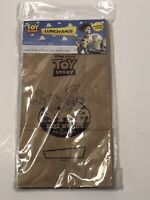 NIP Toy Story Paper Lunch Bags Buzz & Woody - 15 In Package - Free Shipping