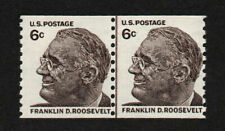 UNITED STATES, SCOTT # 1305, MINT NEVER HINGED LINE PAIR OF FRANKLIN D ROOSEVELT