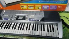 Casio electronic keyboard  ctk 496 in original box tested works great.