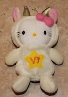 NEW Hello Kitty May 2000 Sanrio Doll of the Zodiac Capricorn Bean Bag 6 in Plush