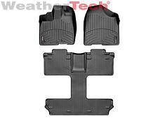 WeatherTech FloorLiner - Toyota Sienna w/ 7-Passenger - 2011-2012 - Black