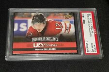 2013-14 UD Canvas #C259 Brendan Gallagher, Rookie Year - PSA 10 - Pop 1 of 4